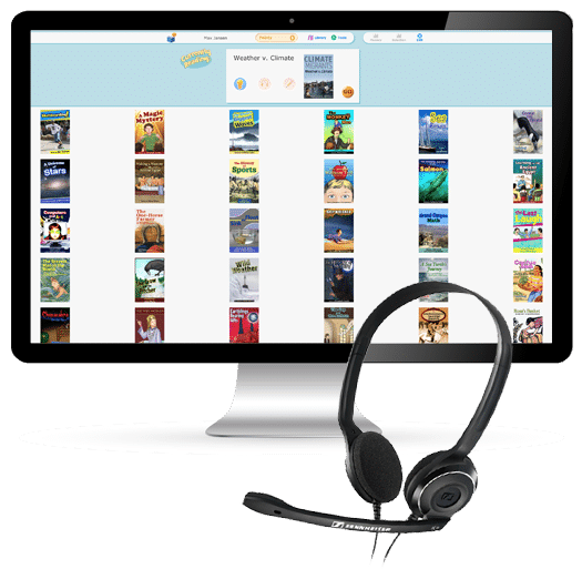Reading Assistant headset
